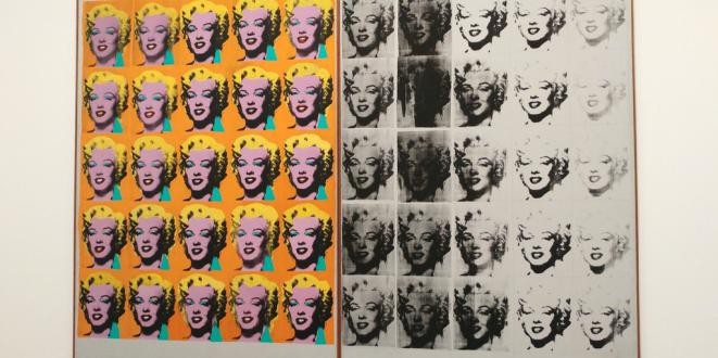 Marylin Diptych, Warhol (1962)